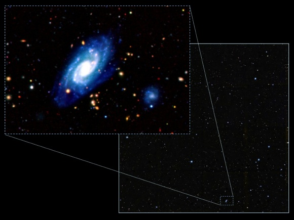 Quan sát các thiên hà hình thành cách đây 10 tỉ năm