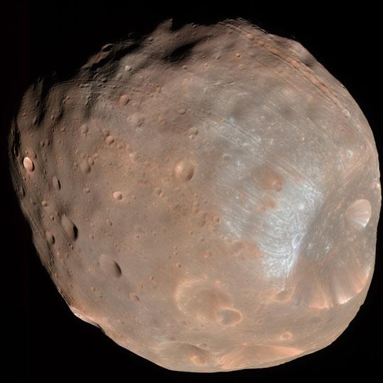 Quan sát chi tiết Mặt trăng của sao Hỏa