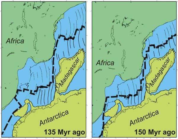 Bí mật quá trình phân tách của siêu lục địa cổ đại