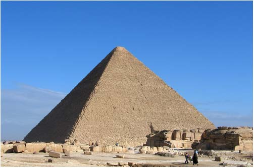 Kim tự tháp Ai Cập chứa đầy vỏ sò
