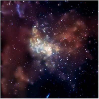 """Lỗ đen khổng lồ trong dải Ngân hà <i>""""thức giấc""""</i> cách đây 300 năm"""