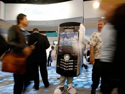 Sẽ có BlackBerry màn hình cảm ứng trong Q3