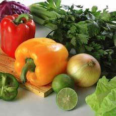 Ăn nhiều rau quả, ít viêm loét dạ dày