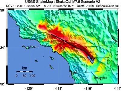 Mỹ diễn tập ứng phó động đất