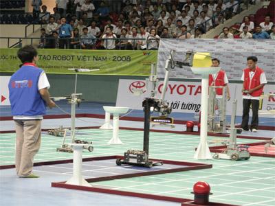 Robocon 2008: 32 đội tuyển dự chung kết tại TP.HCM