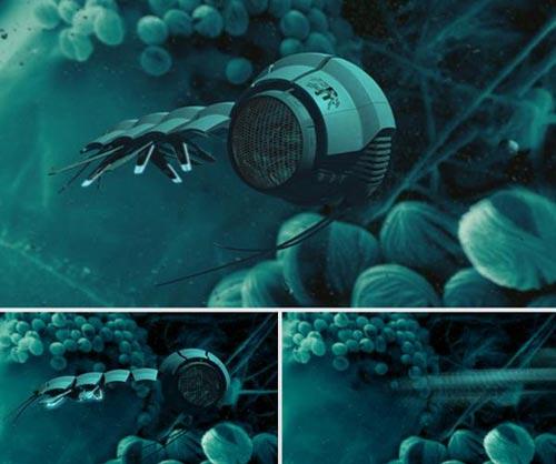 """<i>""""Rôbôt""""</i> phân tử khám phá môi trường tế bào"""