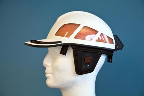 Mũ bảo hiểm chống sốc mới