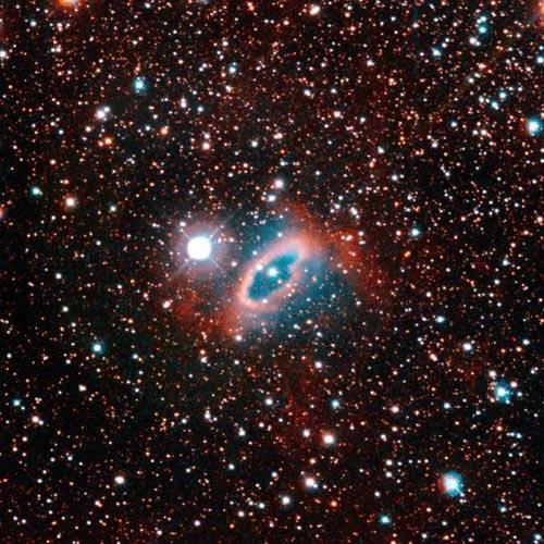 Sao lùn trắng mất tích trong tinh vân hành tinh