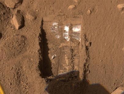Có băng trên sao Hỏa?