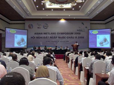 Việt Nam cùng Châu Á họp bàn cứu đất ngập nước