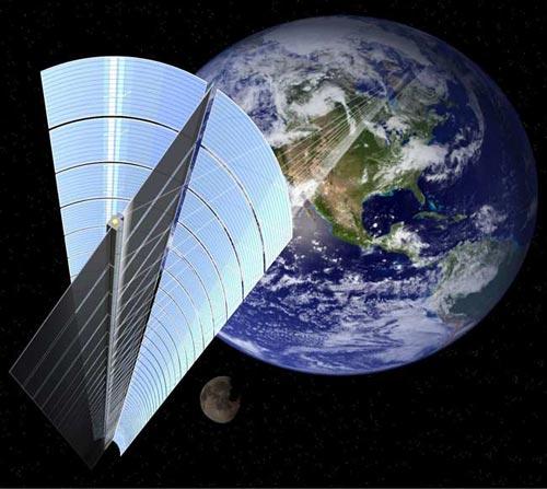Các vệ tinh có thể cung cấp điện trong tương lai