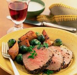 Rượu vang đỏ và thịt bò – sự kết hợp hữu hiệu