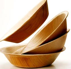 Bát đĩa từ… lá cây