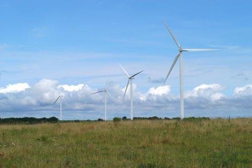 Thị trấn đầu tiên được cấp điện từ năng lượng gió