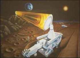 Đất trên mặt trăng có thể cấp năng lượng cho tương lai