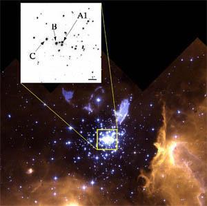"""Các nhà vật lý học thiên thể """"cân"""" ngôi sao nặng nhất trong dải thiên hà"""