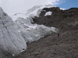 Sông băng rút, những dạng sống nhỏ bé xuất hiện