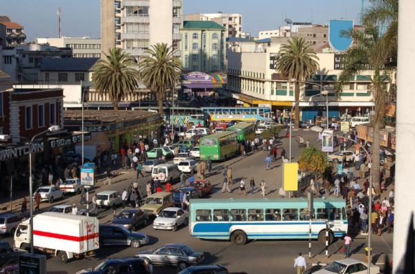 Ảnh hưởng sinh thái học của các thành phố Châu Phi