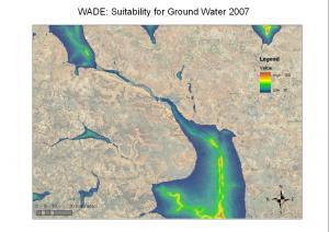 Vệ tinh giúp xác định vị trí nguồn nước