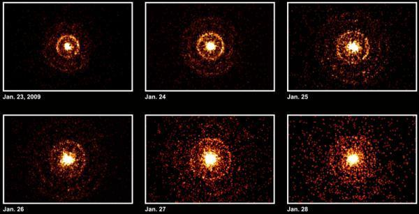 Pháo hoa từ một ngôi sao tia Gamma