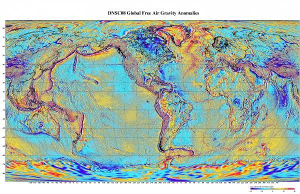 Xác định mỏ dầu bằng hình ảnh vệ tinh