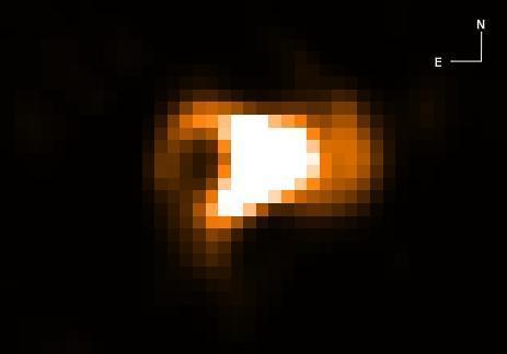 Hubble chụp ảnh vụ nổ sao hình củ lạc