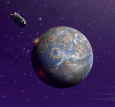Cuộc đổ bộ của thiên thạch cách đây 3,9 tỷ năm đã thúc đẩy sự sống trên trái đất