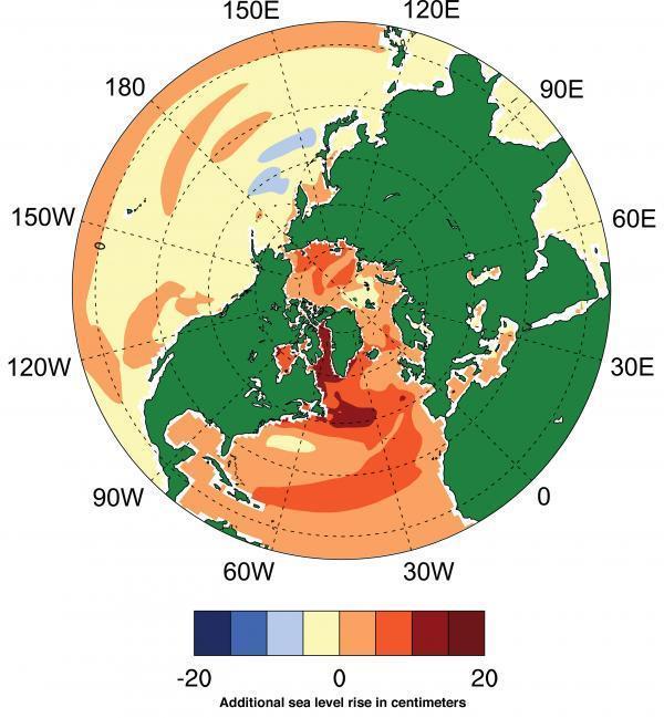 Băng tan tại Greenland đe dọa Đông Bắc Hoa Kỳ và Canada