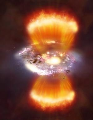 Các thiên hà đến tuổi trưởng thành trong hồ hydro
