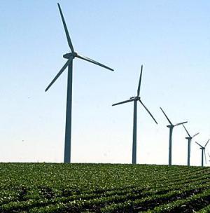 Tốc độ gió đang giảm đi ở Mỹ