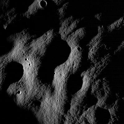 Những hình ảnh đầu tiên trong công cuộc vẽ sơ đồ bề mặt Mặt Trăng