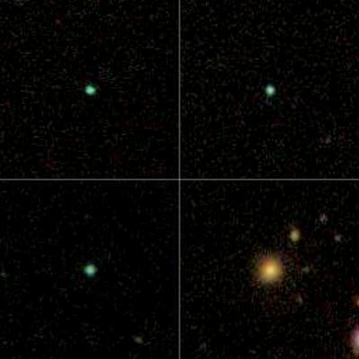 """Phát hiện thiên hà """"Green Pea"""""""