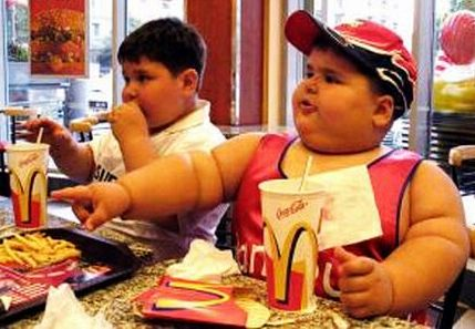 Tỷ lệ béo phì trầm trọng ở trẻ em tăng cao