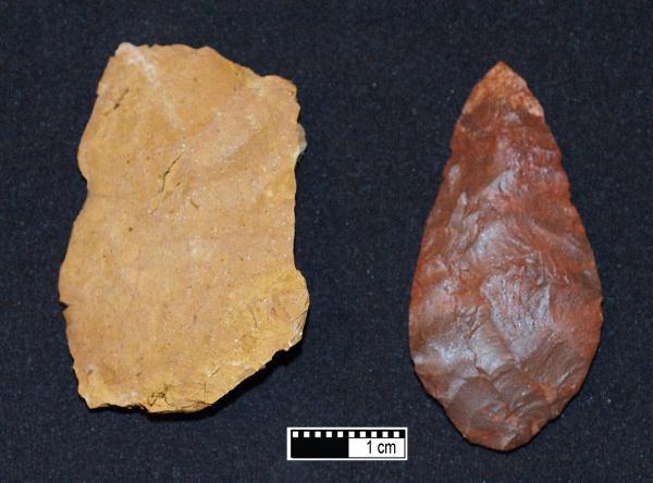 Người hiện đại sử dụng lửa để chế tạo công cụ đồ đá từ 72000 năm trước