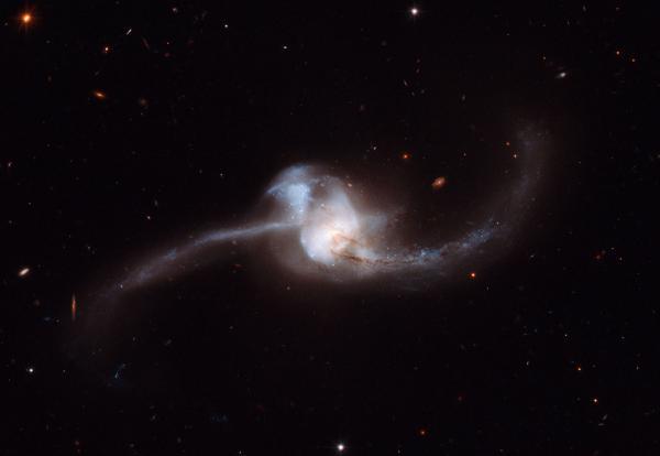 Hai thiên hà hợp nhất