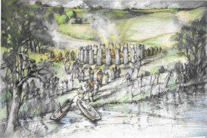 """""""Stonehenge xanh"""" – khám phá từ các nhà khảo cổ học Anh"""