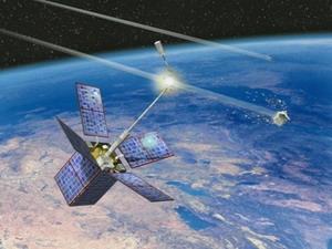 """Hệ thống phát hiện """"rác không gian"""" bằng tia laser"""
