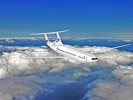 Máy bay tương lai tiêu thụ cực ít nhiên liệu