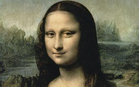 Leonardo dùng cả ngón tay để vẽ tác phẩm Mona Lisa