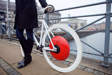 Phanh xe đạp tạo ra điện