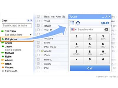 Google thêm chức năng đàm thoại miễn phí cho Gmail, cạnh tranh Skype.