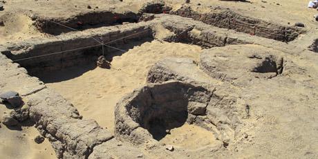 Ai Cập phát hiện một di tích thành cổ 3.500 năm