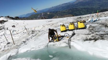 Thảm hoạ từ một túi nước khổng lồ trên núi Mont Blanc