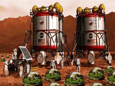 Nghĩ về những nông trại 'tương lai' trên sao Hỏa