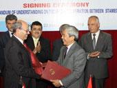 Lễ ký thoả thuận hợp tác giữa Tổng cục Tiêu chuẩn Đo lường Chất lượng và Viện Tiêu chuẩn Palestin
