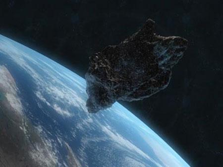 Một thiên thạch sắp bay gần trái đất