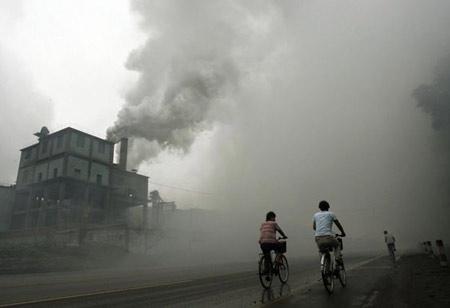 Ô nhiễm bụi có thể khiến tim ngừng đột ngột