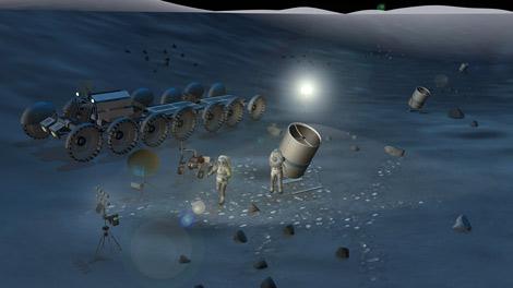Nước trên Mặt Trăng có thể ảnh hưởng tới kính viễn vọng