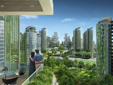 Trung Quốc xây đô thị siêu sạch