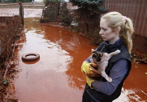 Vỡ hồ chứa chất thải, Hungary ban bố tình trạng khẩn cấp